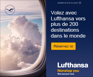 Codes promo Lufthansa FR et cashback Lufthansa FR - 1 % de réduction
