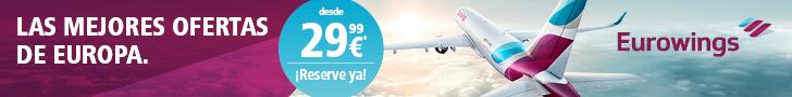 Ofertas vuelos con Eurowings