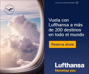 Oferta de vuelos con Lufhtansa